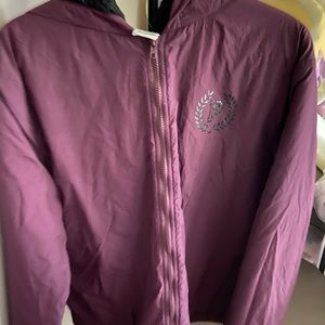 MAROON PINK VS JACKET
